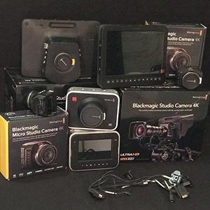 Black Magic 4k Camera